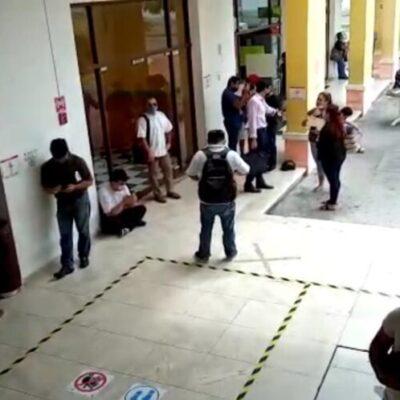 Asisten más de cien personas al día a interponer queja contra empresas por despidos injustificados en Cancún