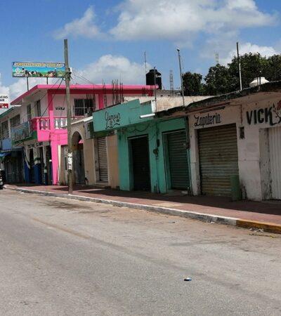 Realiza Cofepris operativos para sancionar a negocios no esenciales que incumplan disposiciones sanitarias en Felipe Carrillo Puerto