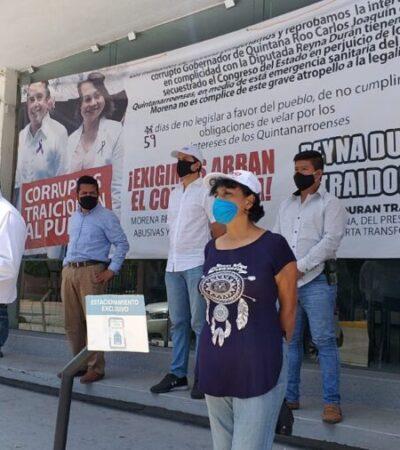 Exigen fundadores de Morena la expulsión de Reyna Durán del partido