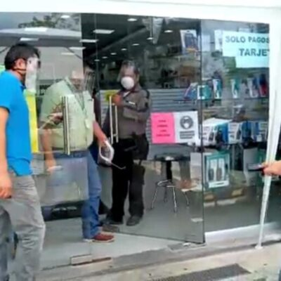 Aumenta venta de aparatos electrónicos por cuarentena en Cancún