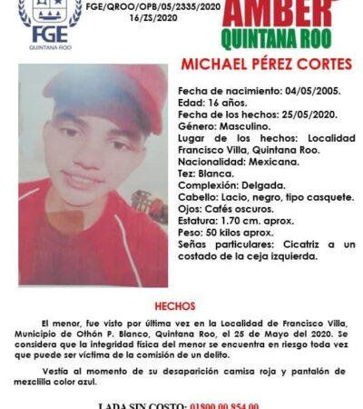 Reportan desaparición de dos menores de edad en el sur de Quintana Roo