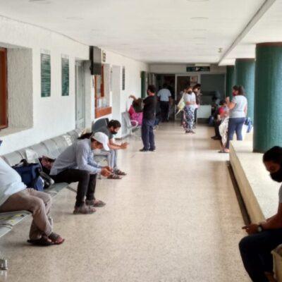 Incrementa número de pacientes en el Hospital de Ginecopediatría de Cancún, al absorber casos de otros nosocomios por la contingencia