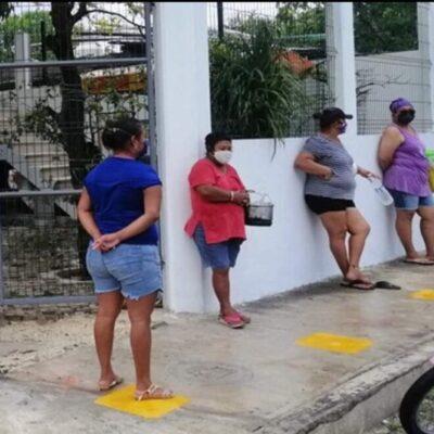 Cocinas comunitarias continúan apoyando a cozumeleños en situación vulnerable