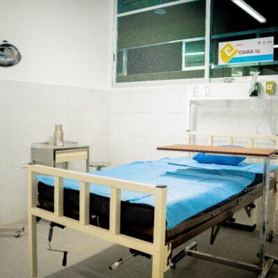 Confirma Secretaría de Salud filtración de agua en el hospital general de Chetumal
