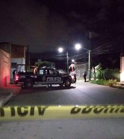 Ejecutan a un hombre en la madrugada en la SM 510 de Cancún