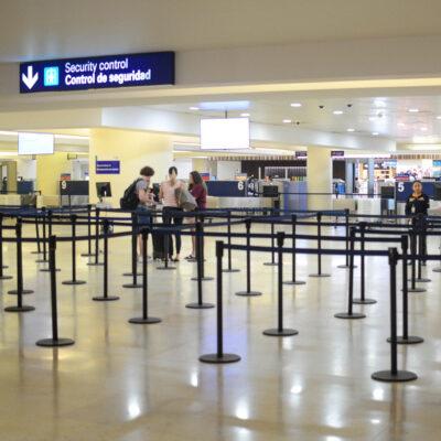 DE CAPA CAÍDA: Aeropuerto de Cancún programó 32 operaciones para este viernes