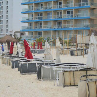 Sector hotelero de Cancún suspendió operaciones de 173 centros de hospedaje durante la jornada de sana distancia