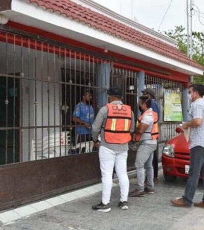 Exhortan a chetumaleños a quedarse en casa, tras repunte de casos positivos de COVID-19 en el municipio