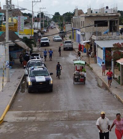 Habitantes de Holbox y Chiquilá permanecerán aislados totalmente durante 15 días para prevenir contagios de coronavirus