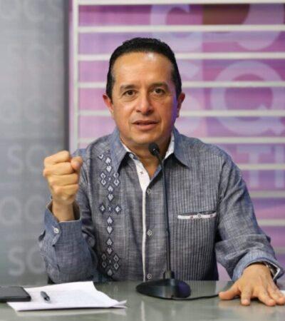 Pide Carlos Joaquín liberar pruebas rápidas de COVID-19 para reiniciar actividades en QR