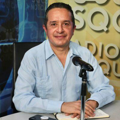 LA PRIORIDAD HOY, QUEDARSE EN CASA: Tras una jornada de reuniones virtuales, asegura Carlos Joaquín que se trabaja en la planeación para el retorno gradual a las actividades económicas