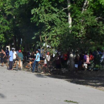 Retienen a equipo de médicos y funcionarios de Felipe Carrillo Puerto en Yalchén