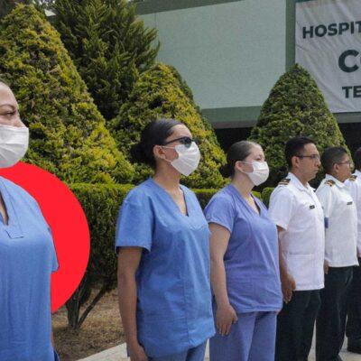 CRECEN CASOS Y MUERTES POR COVID-19: Sedena y Semar abren sus hospitales