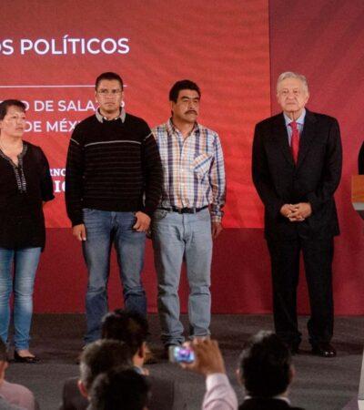 Acusan comuneros de Salazar a hijo de Bartlett: quiso cambiar tierras por libertad de presos políticos