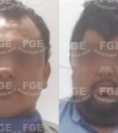 Capturan a dos sujetos implicados en 'cobro de piso' en Playa del Carmen