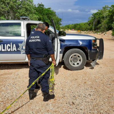 OTRO ASESINATO EN CANCÚN: Hallan cadáver escondido entre hojas secas en la SM 325