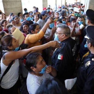 Aumentan contagios de COVID-19 entre policías de Yucatán; acumula el estado 614 enfermos y 49 muertos