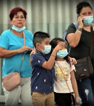 Registran  contagio de COVID-19 en niño de un año en Yucatán