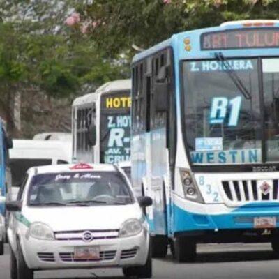 Amparo de concesionarios impide avance del sistema de transporte integral en Cancún, asegura Eleazar Martínez