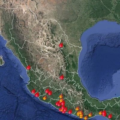 Clasifica Conafor el incendio forestal de Bacalar como prioritario