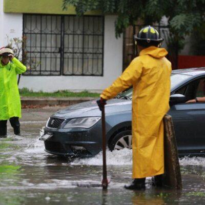 LLOVERÁ SOBRE MOJADO: Activan operativo especial en Cancún por fuertes aguaceros previos a turbonada