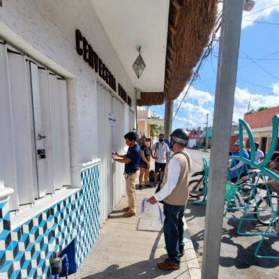 Suspenden varios comercios por no acatar medidas restrictivas en Cozumel