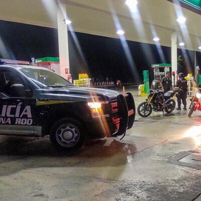 LA DELINCUENCIA NO SE ENCIERRA: Comandos armados asaltan par de gasolineras en Cancún
