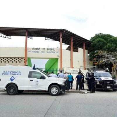 Muere deportista en tribunas de estadio de beisbol en Cancún