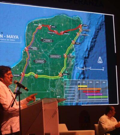 Visita de AMLO será para constatar inicio de obras del Tren Maya en QR, asegura Fonatur