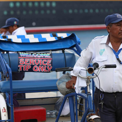 Ocupación de tricicleros cayó un 95% en Cozumel