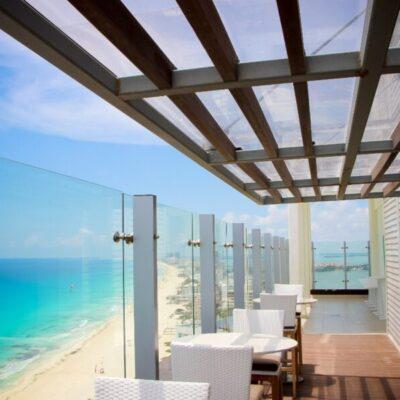 Registran hoteles y Aeropuerto Internacional de Cancún baja actividad turística
