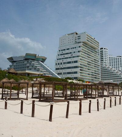 Crisis sanitaria mantiene vaivenes en turismo de Cancún