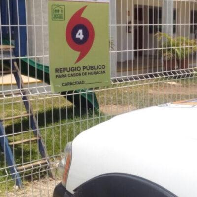 Se aprueban 23 refugios para la temporada de huracanes 2020 en Puerto Morelos