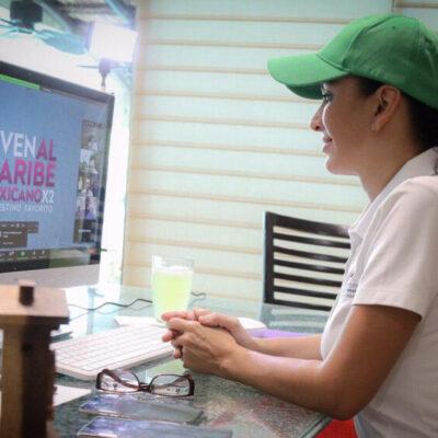 Se compromete Laura Fernández a contribuir en la reactivación turística del Caribe Mexicano