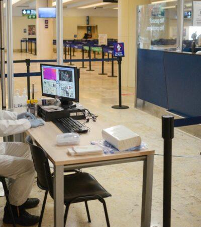 Recibe el Aeropuerto Internacional de Cancún vuelo procedente de Italia