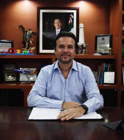 Exhorta Pedro Joaquín a seguir respetando las medidas sanitarias y restrictivas de movilidad en Cozumel