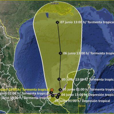 SE FORTALECE 'CRISTÓBAL': Avanza tormenta en el Golfo de México dejando lluvias en todo el Sureste