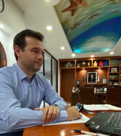 Ante representantes de la ONU, presenta Pedro Joaquín el Plan Estratégico de Reactivación Económica y Turística de Cozumel