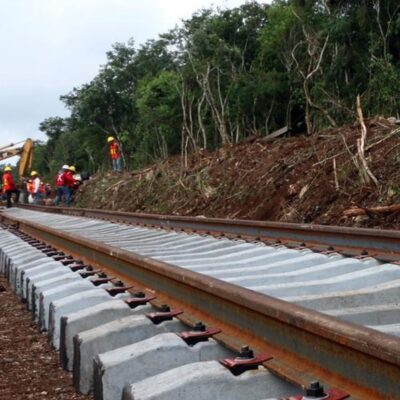 Exigen ejidatarios contratar mano de obra local para Tren Maya en Campeche
