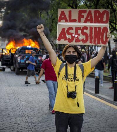 Alfaro culpa a AMLO y a Morena por la violencia en Guadalajara