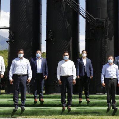 Piden 8 gobernadores cancelar Dos Bocas, Tren Maya y Santa Lucía ante crisis por COVID-19