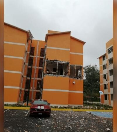 Explosión por acumulación de gas en unidad habitacional militar de Cuernavaca deja 4 heridos
