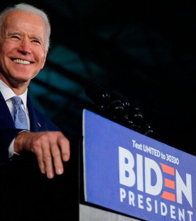 EU: Biden aventaja 14 puntos a Trump en la carrera presidencial