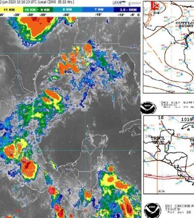 PRONÓSTICO DEL CLIMA: Calor y escasa lluvia en Quintana Roo