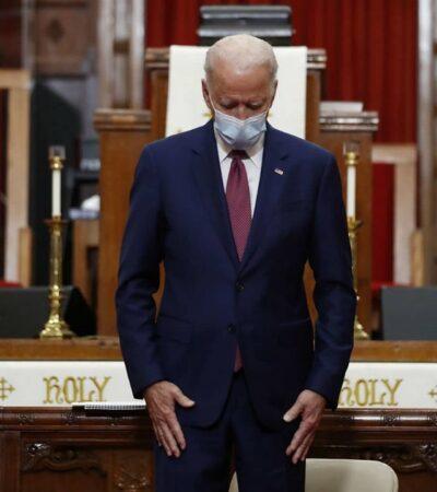Biden pide que policías 'disparen a las piernas, no al corazón' en protestas