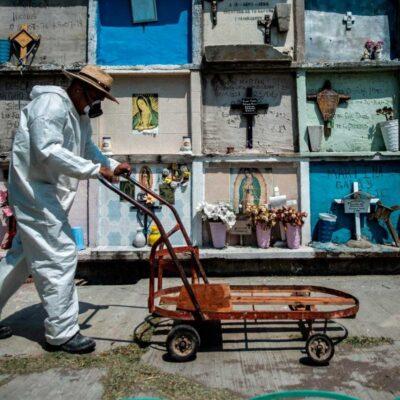 DÍA 13 DE LA 'NUEVA NORMALIDAD': Suman 16 mil 872 muertes por COVID-19