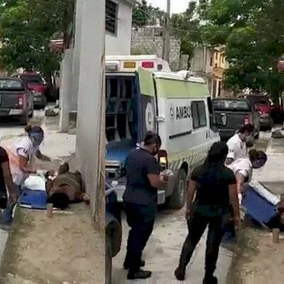 Mujer embarazada es agredida en calles de Tuxtla Gutiérrez