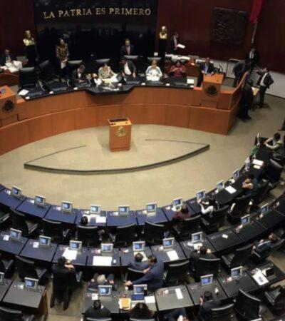 Elimina Senado bancadas del PRD y PES por no tener mínimo de 5 legisladores