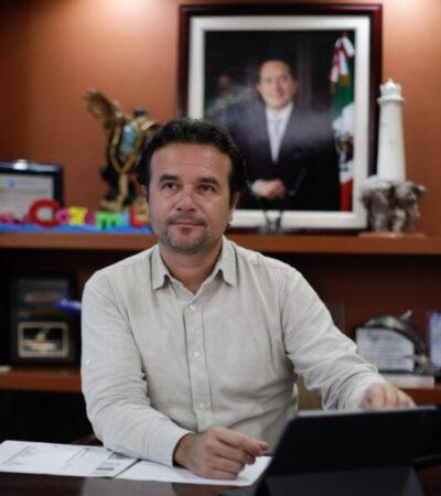 Cozumel mantendrá las medidas preventivas y restrictivas de movilidad, anuncia Pedro Joaquín