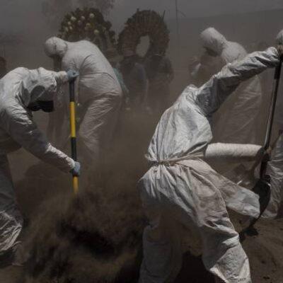 PANDEMIA SE ENSAÑA CON MÉXICO: Acumula 14 mil 053 muertes por COVID-19